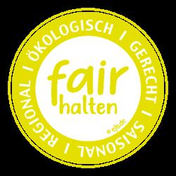 Logo_fair_halten_gelb